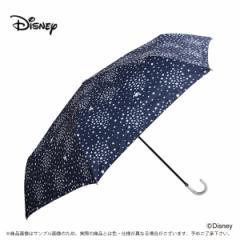 傘 レディース 雨傘 55ドナルドダック 星2ディズニー キャラクター 手動式