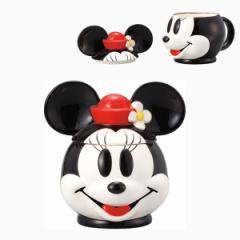 フタ付きマグカップ ミニーマウス ディズニープレゼント かわいい 一人用 一人暮らし