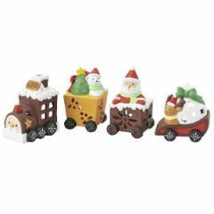 クリスマス 雑貨 キャンドル ホルダー(4個セット)オブジェ
