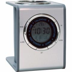 メタルペン スタンドクロック ペンスタンド フォトフレーム 時計 置時計
