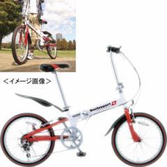 20型折りたたみ自転車 スウィツスポートコンパクト 2台目 アウトドア /SW−SK20W