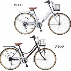 26型オートライトシティサイクルサイクリング おしゃれ/Mー504W