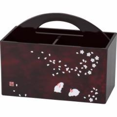 池坊美佳 桜うさぎ リモコンBOX/16757