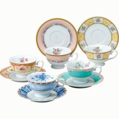 洋陶器 ナルミ フローラルブティック 5客 アソート 碗皿