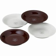 洋陶器 メゾン ドゥ ファミーユ ベーシックカレー皿4枚セット
