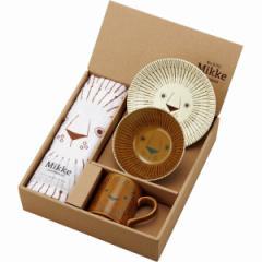 洋陶器 Mikke タオル付ミッケセット マグカップ 皿 セット