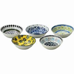 洋陶器 テーブル トーク プレゼンツ ポタリーフィールド スモールボウル5客セット