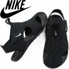 960cfdcd17d8c キッズ 男の子 女の子 スポーツサンダル ナイキ NIKE 943827 サンレイ プロテクト 子供靴 チャイルド ブラック スポサン ベルクロ