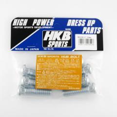 メール便可|HKB/東栄産業:ロングハブボルト 10mm ホンダ P1.5/12.3 8本入/HK20
