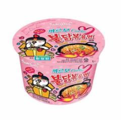 ★新商品★ カルボ ブルダック 炒め麺 (カップ) ★韓国食品市場★ 韓国ラーメン/ 激辛ラーメン/カルボナーラ