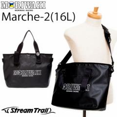 MORIWAKI モリワキ ストリームトレイルコラボトートバッグ MARCHE2-16L BLACK ショルダーバッグ