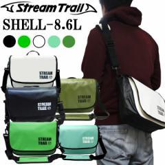 送料無料 STREAMTRAIL ストリームトレイル SHELL シェル 8.6L 簡易防水ショルダーバッグ