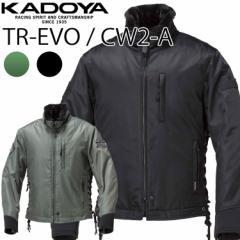 送料無料 KADOYA カドヤ ウィンタージャケット TR-EVO/CW2-A ワッペン付モデル バイク用防寒着