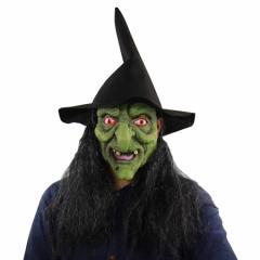 即納 魔女のマスク ハロウィン 魔女 ウィッチ 被り物 マスク メール便送料無料