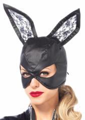 コスプレ ハロウィン レザーラビットマスク バニーマスク ウサギ 3745 衣装 仮装 コスチューム 即納