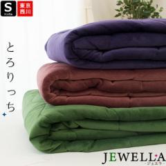 【送料無料】東京西川 あったか 敷きパッド 「ジュエラ」シングル 100×205cm ( 西川 敷パッド シンプル 毛布敷きパッド 冬用 )