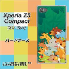 Xperia Z5 Compact SO-02H ハードケース / カバー【370 全員集合 素材クリア】(エクスペリアZ5コンパクト SO-02H/SO02H用)