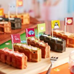 父の日 ギフト ケーキ 季節のワッフルケーキ10個入り 【 のしOK 】