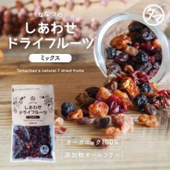 送料無料 ななつのドライフルーツミックス300g 有機オーガニック100% 7種類のドライフルーツ 着色料・香料・添加物不使用 果物 栄養 おや