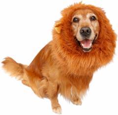 中〜大型犬用ライオンマフラー ライオンウィッグ ◎注意!送料別*別途、送付先別送料を頂戴します。