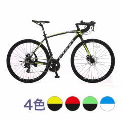 【GT700S】自転車 ロードバイク 2019新型モデル700C×28C高級アルミ仕様 軽量ディスクブレーキ 21Technology