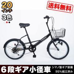 【SK206-2019】20インチ 小径車 ミニベロ 自転車