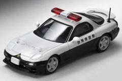 1/64トミカリミテッドヴィンテージ【TLV-N180a マツダRX-7 パトロールカー】トミーテック