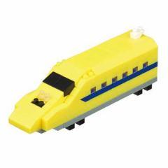 nano block ナノブロック【nGT-018 トレインコレクション 923形新幹線電気軌道総合試験車(ドクターイエロー)】カワダ