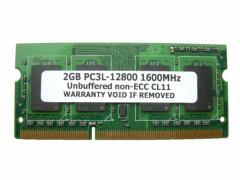 2GB PC3L-12800 DDR3 1600 204pin SODIMM PCメモリー  「メール便可」