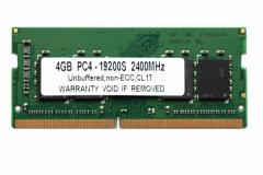 SODIMM 4GB PC4-19200 DDR4 2400 260pin CL17 PCメモリー 「メール便可」