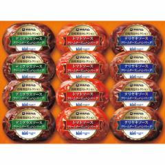 お中元 ギフト のしOK ハム 送料無料 伊藤ハム キリクリームチーズ使用 ハンバーグギフト(12個)(CH-31) / 御中元 夏ギフト 贈り物 暑中