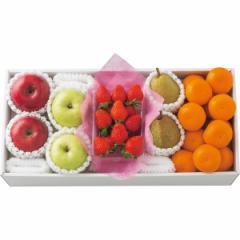 お歳暮 ギフト フルーツ 送料無料 冬のいちごと旬の果物詰合せ / 果物 フルーツ 国産 ギフト 贈り物 セット 詰め合わせ お取り寄せ 内祝