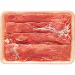 お歳暮 ギフト 肉 送料無料 愛媛県産甘とろ豚 しゃぶしゃぶ用モモ(350g) / 内祝い 御祝い 豚肉 肉 お肉 贈答用 人気 セット