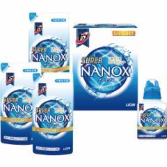お中元 ギフト のしOK 洗剤 送料無料 ライオン トップスーパーナノックスギフト(LSN-20) / 洗剤セット 石鹸 詰め合わせ 御挨拶 御祝 御礼