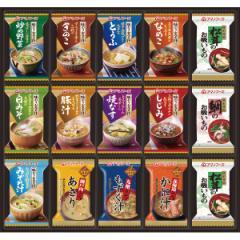 お中元 ギフト スープ 送料無料 アマノフーズ フリーズドライ バラエティギフト(30食)(M-500R) / 御中元 夏ギフト 暑中お見舞い レトルト