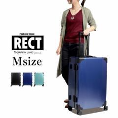 キャリーケース キャリーバッグ スーツケース Mサイズ 中型 送料無料 トランクケース USBコネクタ搭載 RECT レクト DL-2457K