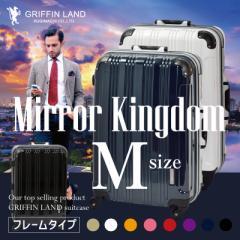 キャリーケース キャリーバッグ スーツケース Mサイズ 中型 送料無料 DL2100 ミラーKingdom