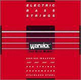 Warwick/ベース弦 Red Strings(stainless steel)(4弦用)【メール便OK】【ワーウィック】