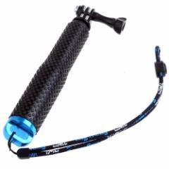 【送料無料】 Gopro 対応 自撮り棒 伸縮拡張 延長ポール スポーツカメラ用 セルカ棒 アルミニウム合金材料 防水仕様