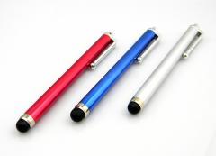 【送料無料】スマホ、 タブレットPC、iPad、iPhone用 タッチペン☆3カラー選択