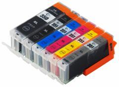 【送料無料】高品質 BCI-351XL(BK/C/M/Y/GY)+BCI-350XLPGBK6色マルチパック(大容量)☆MG6330