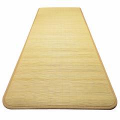 東京ラタン 廊下敷 廊下カーペット ラグ マット ラグマット 絨毯 じゅうたん 籐製 天然籐 表皮 廊下敷 80×250cm