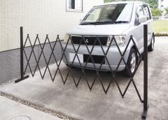 アルミ製 パッと広げて 簡単 フェンス ガレージ