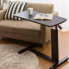 テーブル 昇降式テーブル 昇降デスク リフティングテーブル ガス圧昇降テーブル ベッドサイドテーブル キャスター付き 作業台