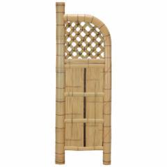 袖垣 竹垣 幅55cm 天然竹使用 玉袖垣