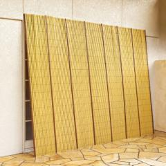 日よけ よしず たてす 日除け サンシェード 目隠し 竹垣風 たてすだれ たてず 約幅184×高さ184cm 代金引換不可