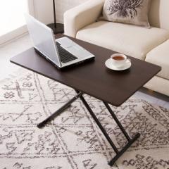 テーブル センターテーブル デスク ダイニングテーブル NEW 木製昇降式フリーテーブル 折りたたみテーブル