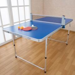 折りたたみ 卓球台 家庭用 コンパクト 卓球セット テーブルピンポンセット 省スペース 折りたたみテーブル 折り畳み式 レジャーテーブル