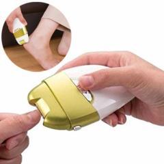 電動爪削り&角質ケアローラー 電動爪削り Leaf DX 爪やすり かかと角質 ネイルケア