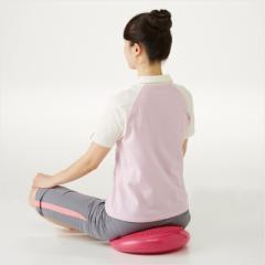 骨盤バランスクッション 座るだけで簡単にエクササイズ 体感クッション 体感トレーニング オフィス エクササイズ ポンプ付き 代金引換不